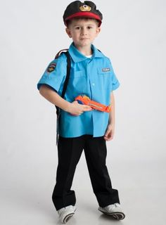 Policeman - children's costume-profession