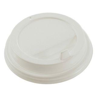 FORMATION / Disposable lids for glass 300 ml (d-90), KIT 100 pcs., Spout valve, white