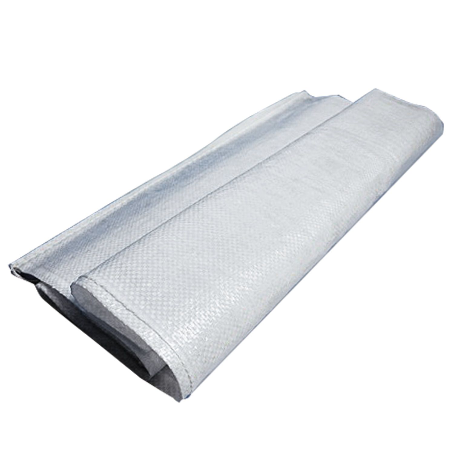 Polypropylene bags up to 50 kg, set of 100 pcs., 105x55 cm, weight 72 g, for a wide range of applications, white