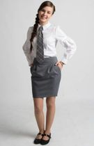 "Tulip skirt from the collection ""School waltz"""