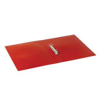Folder on the 2 rings STAFF, 21 mm, red, up to 170 sheets, 0.5 mm