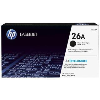 Toner cartridge HP (CF226A) LaserJet Pro M402d / n / dn / dw / 426dw / fdw / fdn, # 26A, original, yield 3100 pages.