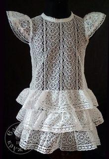 Dress baby lace С462