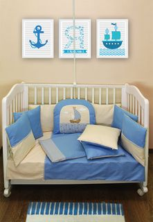 """BON VOYAGE"" Ш4064 / 0 - CHILDREN'S SET IN THE COT (WITHOUT BALDAKHINA, SATIN, REMOVABLE COVERS)"