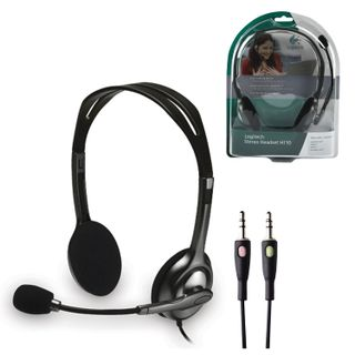 LOGITECH / Headphones with microphone (headset) H110, wired, computer, 1.83 m, stereo, 2 x mini jack 3.5 mm, black