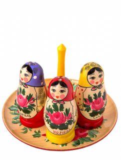 """Set for spices """"Matryoshka"""""""