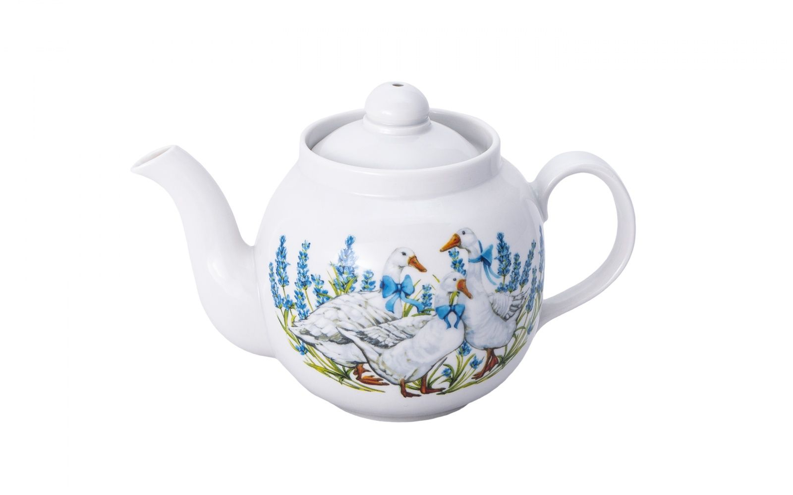 Dulevo porcelain / Teapot 700 ml Amber Geese