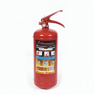 ZPU Alum YARPOZH / Powder fire extinguisher OP-2, ABCE (solid, liquid, gaseous substances, electrical installations) injection