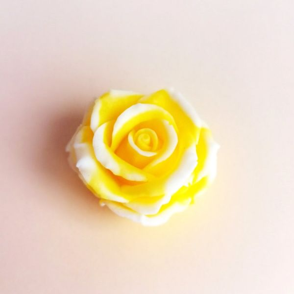 Handmade soap Yellow rose