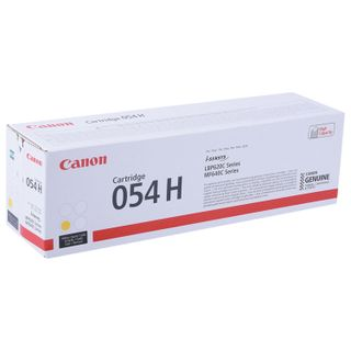Laser cartridge CANON (054HY) for i-SENSYS LBP621Cw / MF641Cw / 645Cx, yellow, yield 2300 pages, original