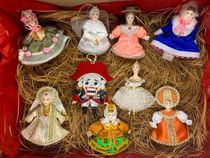 Set of Christmas toys handmade 'Christmas ball', 9 PCs