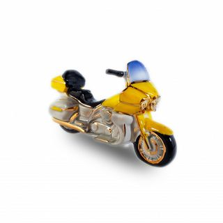 "Christmas tree toy ""Motorcycle yellow"""