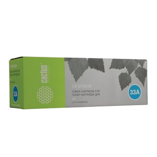 Toner cartridge CACTUS (CS-CF233A) HP LaserJet Ultra M106w / M134A / M134fn, yield 2300 pages.