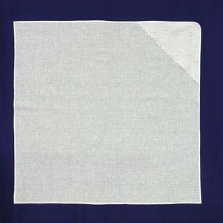 Bed sheet children's baptismal linen 9-27