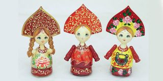 Doll Russian Small - Souvenir