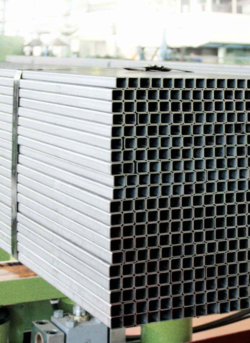 Profile pipes diameter 10x10 - 200x200 mm