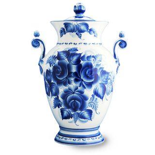 Vase Empire style, Gzhel Porcelain factory