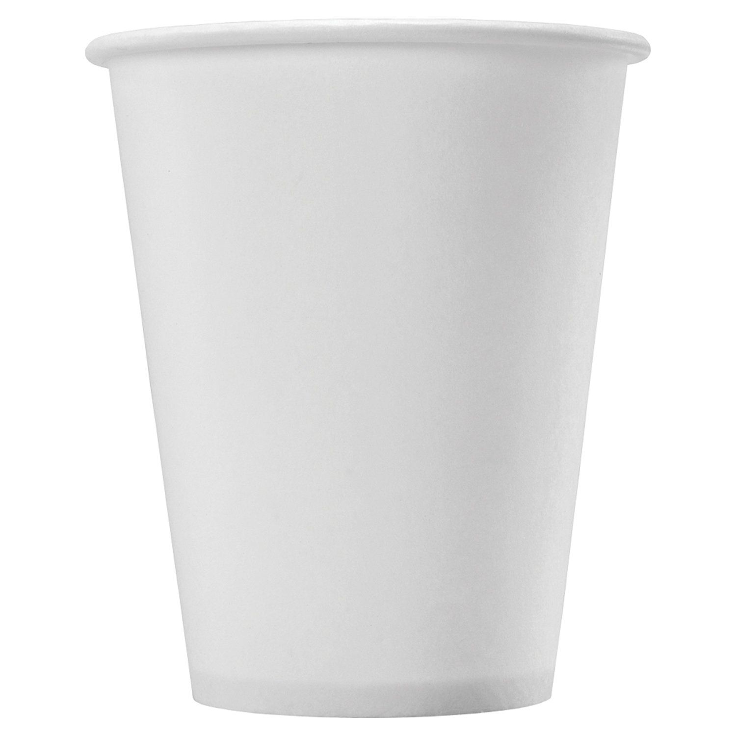 FORMATION / Disposable cups 180 ml, SET 80 pcs., Single-layer paper, white, cold / hot