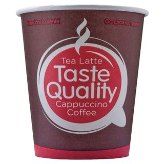 "FORMATION / Disposable cups 180 ml, SET 80 pcs., Single-layer paper, ""Taste Quality"", cold / hot"