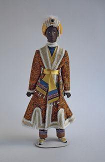 Doll gift. Raja. Theatrical costume