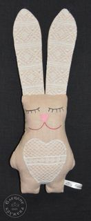 "Textile toy ""Hare"""