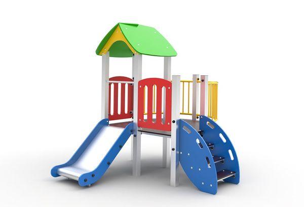 Playground for children, A 105 powder paint