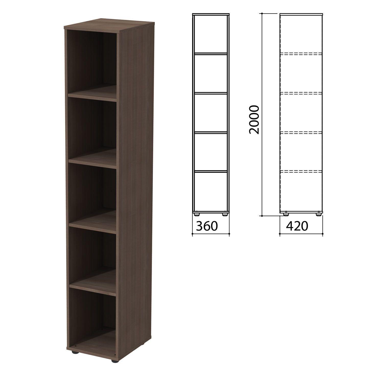 """Wardrobe (rack) """"Priority"""", 360х420х2000 mm, 4 shelves, garbo"""