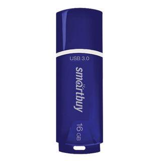 SMARTBUY / Flash Drive 16 GB Crown USB 3.0, Blue