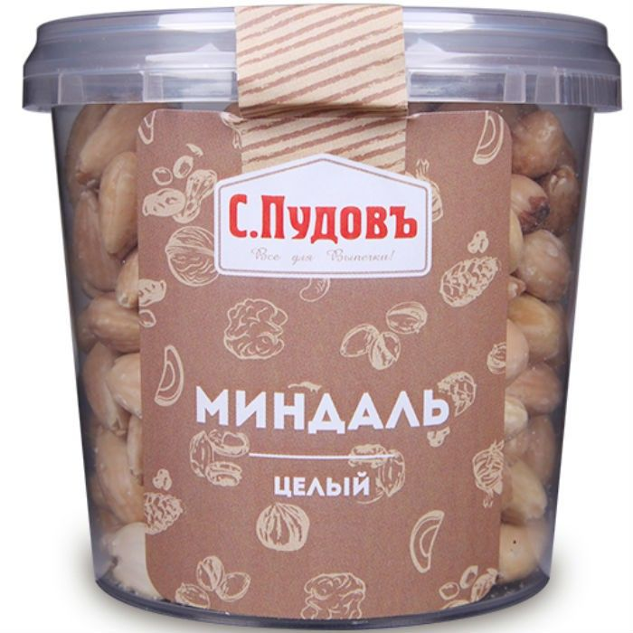 Whole almonds S. Pudov, 200 g