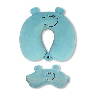 Neck pillow. With the sleep mask. Behemoth (4)