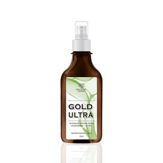A colloidal solution of gold the