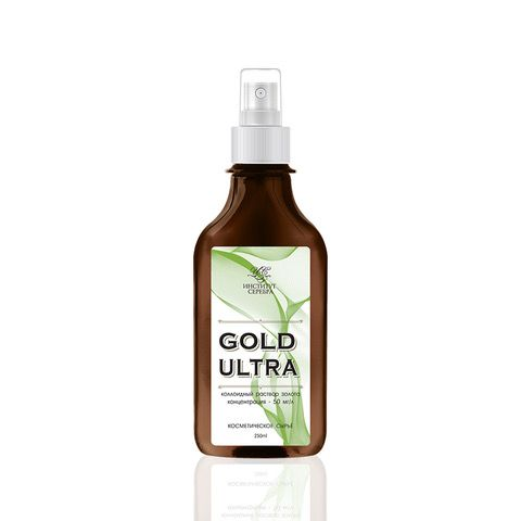 """Institute of Silver / Colloidal solution of gold """"GOLD ULTRA"""" 250 ml"""