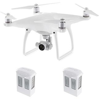DJI Phantom 4 Quadcopter Kit with Two Spare Batteries