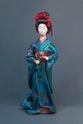 Doll gift porcelain. Geisha. - view 1