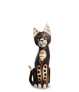 """Wooden statuette """"Cat"""" 30cm"""