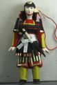 Doll gift. Samurai in 17th century Japan - view 1