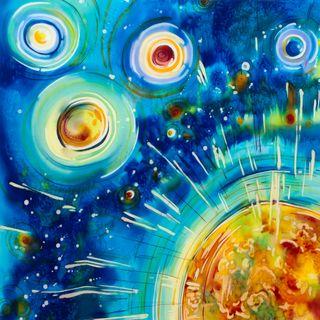 """Shawl """"Cosmos"""""""