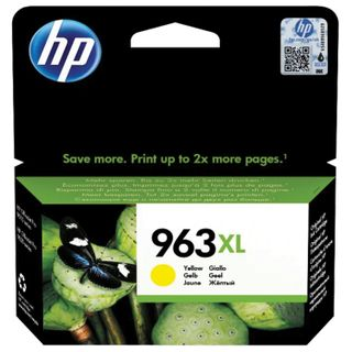 HP Inkjet Print Cartridge (3JA29AE) for HP OfficeJet Pro 9010/9013/9020/9023, # 963XL Yellow, yield 1600 pages