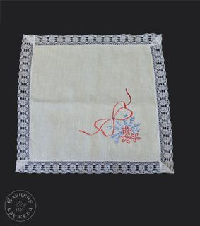 "Napkin linen ""New year"""