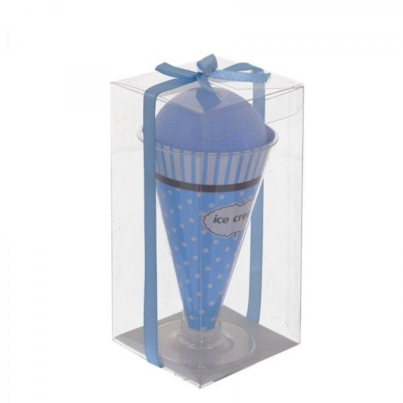 """Gift-wrapped towel """"Ice Cream"""""""