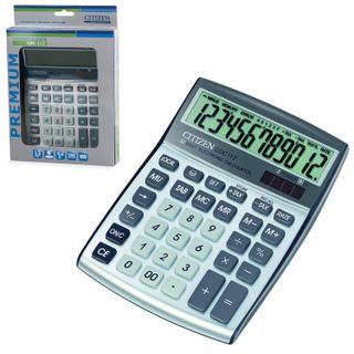 Desktop calculator CITIZEN CDC-112WB, SMALL (175x130 mm), 12 digits, dual power supply