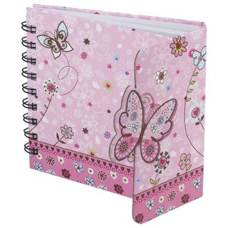 Small FORMAT Notebook (130 x130 mm) A6, 80 sheets, spiral, hardcover, magnetic valve, line, BRAUBERG