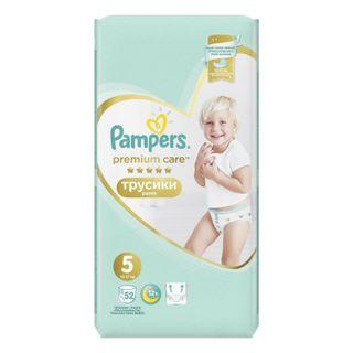 PAMPERS / Pants-diapers Premium Care Pants, size 5 (12-17 kg), 52 pcs.