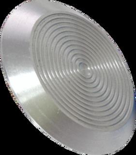 Aluminum tactile indicator CT 01 (AL) l-0. 35 x 35 x 5mm