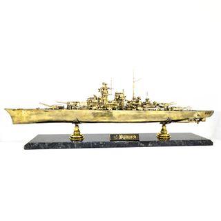 Model Battleship Bismarck 1:350