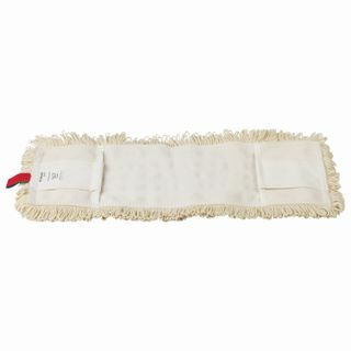LIMA EXPERT / MOP attachment flat for mop / holder 40 cm, ears / pockets (TYPE U / K), sewn on cotton
