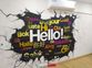 Graffiti decoration