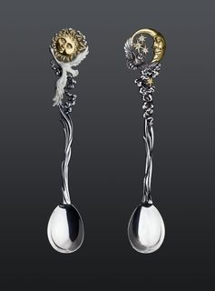"Teaspoons ""Day and Night"""