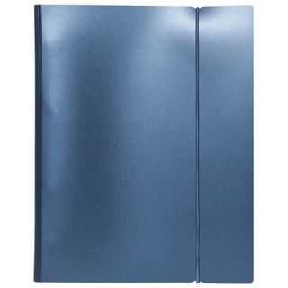 Notebook on A5 rings (175 x220 mm), 120 sheets, plastic cover, cage with fixing gum, HATBER