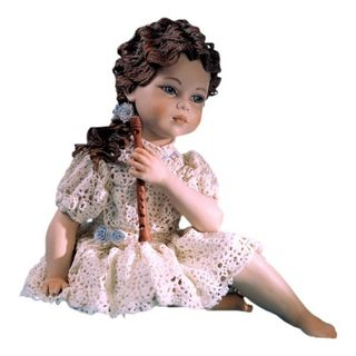 "Collectible porcelain figurine ""Arianna"", 20 cm"